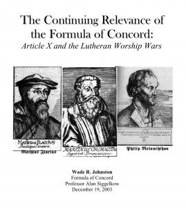 Adiaphoristic Controversy